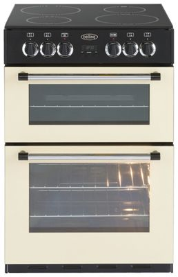 Buy Belling Classic 60e Double Electric Cooker Cream At