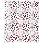 more details on Contour Checker Wallpaper - Red.