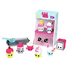 more details on Shopkins Food Deluxe Pack Candy Coll Playset.