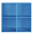 more details on Phoenix 2x2 Cube Storage Unit - Blue.