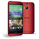 more details on Sim Free HTC One M8s Mobile Phone - Red.