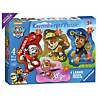 more details on Ravensburger Paw Patrol Shaped Puzzles - Set of 4.