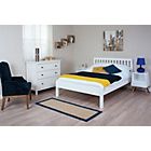 more details on Silentnight Hayes White Double Bed Frame.
