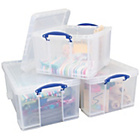 more details on Really Useful 2 x 64 Litre 1 x 42 Litre Storage Boxes Pack.