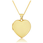 more details on 9ct Gold Heart Locket Pendant