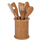 more details on HOME Bamboo 5 Piece Utensil Set and Caddy.