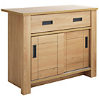 more details on Heart of House Wetherby 2 Sliding Doors 1 Drawer Sideboard.