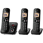 more details on Panasonic KXTG6803 Cordless Telephone with Answer M/c-Triple