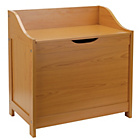 more details on Monks Bench Style Laundry Bin - Pine.