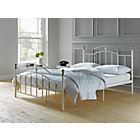 more details on Brynley Kingsize Bed Frame - Ivory.