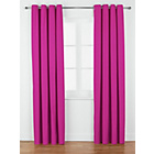 more details on ColourMatch Lima Eyelet Curtains - 117x137cm - Fuchsia.