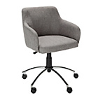 Hygena Sasha Height Adjustable Office Chair - Grey