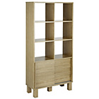 more details on Hygena Genoa Slatted Display Unit - Oak Effect.