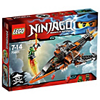 more details on LEGO Ninjago Sky Shark Playset.