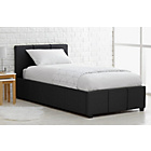 more details on Hygena Hendry Single Ottoman Bed Frame - Black.