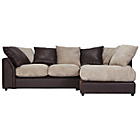 more details on Annabelle Jumbo Cord Extra Large Right Corner Sofa - Mink.