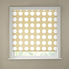 more details on 5ft Natural Semi Privacy Spots Roller Blind.