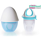 more details on Kidsme Food Feeder Plus with Silicon Grinder- Aquamarine.