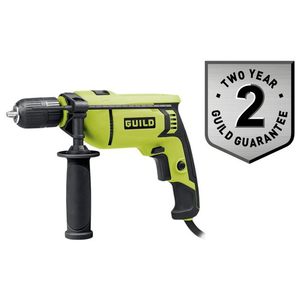 buy guild 13mm keyless corded hammer drill 750w at argos. Black Bedroom Furniture Sets. Home Design Ideas
