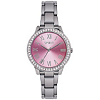 more details on Spirit Ladies' Stone Set Pink Dial Silver Bracelet Watch.
