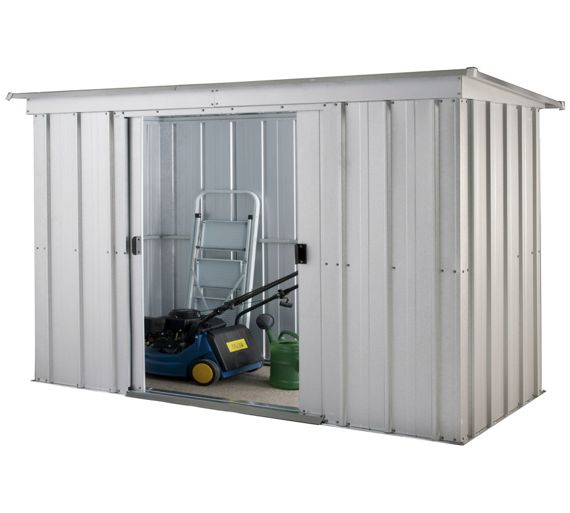 Buy yardmaster metal garden storage unit at for Sheds and storage units