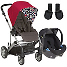 more details on Mamas & Papas Pixo Pushchair Package - Red.