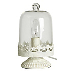 more details on Heart of House Frieda Cloche Table Lamp - Clear.