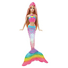 more details on Barbie Rainbow Lights Mermaid Doll.