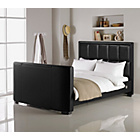 more details on Hygena Costello Kingsize TV Bed - Black.