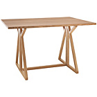 more details on Habitat Heath 2-4 Seat Oak Folding Dining Table