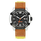 more details on Timberland Men's Chocorua Black Dial Leather Strap Watch.