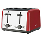 more details on Kenwood Scene 4 Slice Toaster - Red.