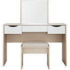 more details on Hygena Berkeley Dressing Table - White and Oak.