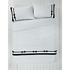 more details on Alice Bow Black Bedding Set - Double.