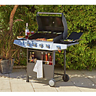 more details on Premium 4 Burner Gas BBQ with Side Burner.