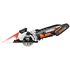 more details on Worx WX523 20v Li Ion Worxsaw.