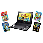 more details on Lava 9 inch Portable DVD Player - Simpson Bundle.