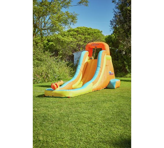 Buy chad valley inflatable water slide at for Garden pool argos
