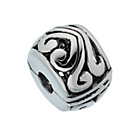 more details on Link Up Sterling Silver Stopper Bead for Leather Bracelets.
