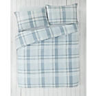 more details on Piped Blue Check Bedding Set - Double.