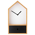 more details on Birdhouse Style Clock with Drawer.