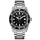 more details on Bulova Men's Marine Star Black Dial Sports Bracelet Watch.