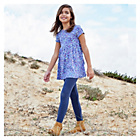 more details on Cherokee Girls Tunic and Leggings in Ditsy Flower Print.