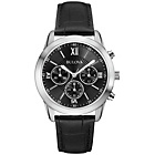 more details on Bulova Mens' Black Dial Chronograph Leather Strap Watch.