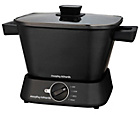 more details on Morphy Richards 460751 Compact Square Slow Cooker - Black.