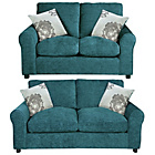 more details on Tessa Sofa Bed and Regular Sofa - Teal.