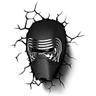 more details on Star Wars Kylo Ren 3D LED Novelty Light with Sticker.