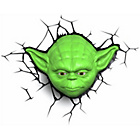 more details on Star Wars Yoda 3D LED Novelty Light with Sticker.