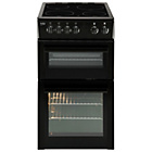 more details on Beko BDC5422 Twin Cavity Electric Cooker - Black.