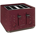 more details on Morphy Richards 248103 Prism Four-Slice Toaster - Merlot.